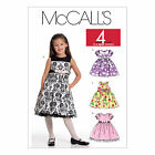 McCall's 5793 Sewing Pattern to MAKE Traditional Dresses w/Yoke & Sleeve Vari