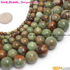 "Round multi-color opal gemstone jewelry making loose beads 15"" 4/6/810/12/14mm"