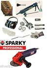 COMPLETE REPOINTING PACK - GRINDER, MORTAR RAKE KIT MORTAR GUN & SAFETY SET