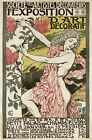 AZ36 Vintage 1894 French Art Nouveau Exhibition Advertisement Poster A1/A2/A3/A4