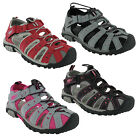 WOMENS PDQ CLOSED TOE WALKING BEACH HOLIDAY SPORTS ADVENTURE SHOES SANDALS UK3-9