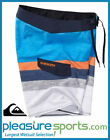 "Quiksilver Slater 19"" Men's Boardshorts - Blue/White"