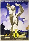 WB53 Vintage 1936 11th German Olympic Games Athlete Poster Re-Print A1/A2/A3/A4