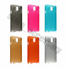 New Slim Hard Plastic Back Case Cover For Samsung Galaxy Note 3 III N9000 N9005
