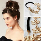 New Elegant Women's Girls Retro Vintage Hollow Leaf Elastic Hair Band Headband