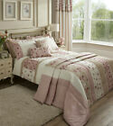 Catherine Lansfield Imogen Pink Floral Bedding Quilt Duvet Set various sizes
