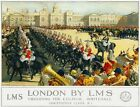 TX294 Vintage London Trooping The Colour LMS Railway Travel Poster A2/A3/A4