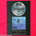 NIRVANA Nevermind Album Signed CD COVER MOUNTED A4 Autograph Repro Print (20)