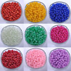 New Top Quality Imitation jade round glass Loose Beads Choose - 4MM, 6MM, 8MM