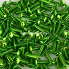 GREEN M6 Pro Alloy Large Button Head Bolt Allen Key Universal (choice of length)