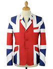 NEW RETRO INDIE MOD SIXTIES UNION JACK BLAZER JACKET 60s Who Jam Townshend