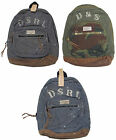 Polo Ralph Lauren Denim & and Supply Leather Chambray Camo Shoulder Bag Backpack