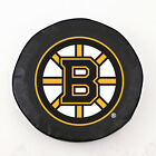 Boston Bruins NHL Exact Fit Black Vinyl Spare Tire Cover by HBS Covers