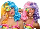 Lollipop Wig circus clown costume dress up hair fun party play fashion comedy