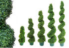 Best Artificial Boxwood Buxus Topiary Spiral Outdoor Twist Trees alt Bay Bay New