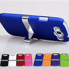New Deluxe Chome Holder Stand Hard Case Cover for Samsung Galaxy S3 III i9300