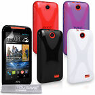 Accessories For HTC Desire 310 Soft Silicone Gel X-Line Phone Skin Case Cover UK