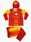 Iron Man Polyester Fancy Suit Outfit Set T-Shirt+Pants #344 Size 3-10 age 2-10
