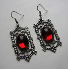 Gothic Cathedral VICTORIAN Filigree RENAISSANCE Medieval Earrings BRIDAL Silver