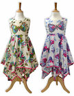Girls Summer Pink Butterfly Dress Kids Dresses New Age 2 3 4 5 6 7 8 9 10 Years