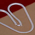 5mm  solid  Silver necklace chain 20inch SZN130