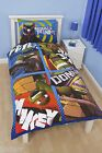 TEENAGE MUTANT NINJA TURTLES DUVET COVER BED SET 'DUDES' KIDS CARTOON BOYS NEW