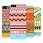 HEAD CASE PRINT MEDLEY SNAP-ON BACK COVER FOR APPLE iPHONE 5 5S