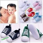 Infant Toddler Baby Boy Girl Soft Sole Crib Shoes Sneaker Age 0-12Months 3 Sizes