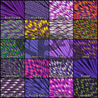 550 Type III 7 Strand Mil-Spec Commercial Paracord Purple Color 10' 25' 50' 100'