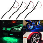 4x 30cm 4 colors 15-LED Car Trucks Motor Grill Flexible Waterproof Light Strips