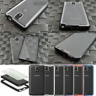 For Samsung Galaxy Note 3 III Hybrid Full Body Case Cover Built-In Screen Film