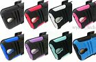 For Samsung Galaxy S4 S IV Rugged Holster Kickstand Belt Clip Case Hybrid Cover