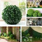 Fish Tank Green Grass Ball Plastic Plant Ornament Party Decoration Garden Decor