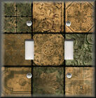 Switch Plates And Outlets - Tuscan Mosaic - Home Decor - Tan Sage Tones