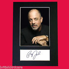 BILLY JOEL Signed Autograph Quality Mounted Photo Reproduction A4 475