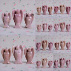 40mm&50mm Carved rhodonite angel figurine set