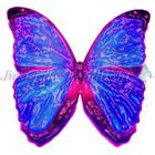 TRANSPARENT BUTTERFLY 9, PRE-CUT or SHEET suncatcher scrapbooking craft 3d
