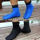 2.5mm Pair Neoprene Diving Socks Scuba Surfing Swimming Water Sports Boot Wet