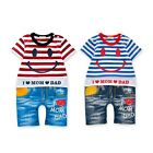 New Baby Smile Washing jean rompers #2076 100% Cotton, Everyday, Short Sleeve