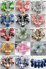 Lot Nice MIX Colorful Acrylic Beads Fit European Charms Bracelet DIY Jf511