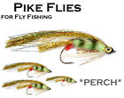 3x PERCH FRY (MPF1) Pike Fly - Flies for Pike Saltwater & Predator Fly Fishing