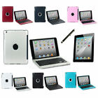 Clam Shell For Apple iPad Mini Become Notebook Wireless Bluetooth Keyboard Case