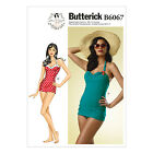 Butterick 6067 Gertie Sewing Pattern to MAKE Retro Vintage Swimsuit in Cup Sizes