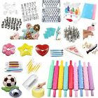 Fondant Cookie Birthday Wedding Cake Paste Decorating Embossed Sugar Icing Tools
