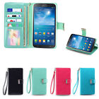 IZENGATE ID Wallet PU Leather Flip Case Cover Folio for Samsung Galaxy Mega 6.3