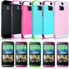 TPU Gel Rubber Ultra Slim Light Rugged Cover Phone Skin Case For HTC One M8 2014