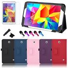 "PU Leather Stand Case Cover for Samsung Galaxy Tab4 8.0"" 8inch T330 SM-T330NU"