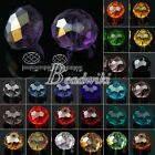 72pcs Loose Faceted 5040 Crystal Rondelle Spacer Beads 10/12mm Wholesale