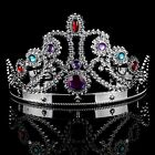 Acrylic Rhinestone Party Queen Crown