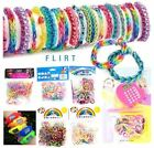Colorful Loom Bands Kits Glitter Watch Calculator Kids Charms Elastic Band Cheap